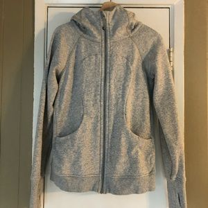 Lululemon scuba hoodie - light gray - 8 medium
